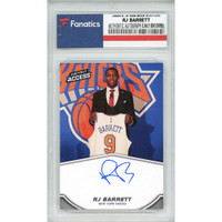 RJ BARRETT New York Knicks 19-20 Panini Instant RC #3 FANATICS LE 14/25