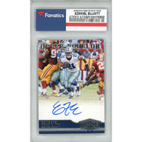 EZEKIEL ELLIOTT Autographed Dallas Cowboys 2016 Panini P&P RC #31 Card FANATICS