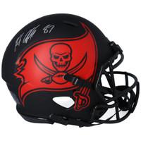 ROB GRONKOWSKI Autographed Tampa Bay Buccaneers Eclipse Authentic Helmet FANATICS