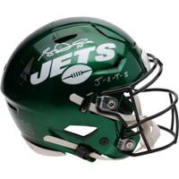 SAM DARNOLD Autographed New York J-E-T-S Speed Flex Authentic Helmet FANATICS