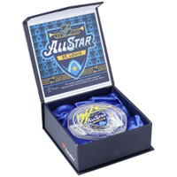 JORDAN BINNINGTON Autographed '20 All Star Game Used Ice Crystal Puck Display FANATICS