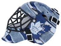 "GRANT FUHR Autographed ""HOF 03"" Toronto Maple Leafs Mini Goalie Mask FANATICS"