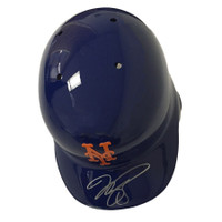MIKE PIAZZA Autographed New York Mets Batting Helmet FANATICS