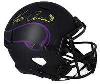 KIRK COUSINS Autographed Minnesota Vikings Eclipse Full Size Speed Helmet FANATICS