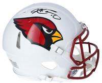 KYLER MURRAY Autographed Arizona Cardinals White Matte Authentic Speed Helmet FANATICS