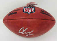 CHASE YOUNG Autographed Washington Redskins NFL Official Football FANATICS