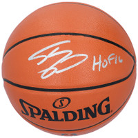 "SHAQUILLE O'NEAL Autographed ""HOF '16"" Los Angeles Lakers Spalding Basketball FANATICS"