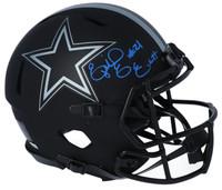 EZEKIEL ELLIOTT Autographed Dallas Cowboys Eclipse Speed Authentic Helmet FANATICS