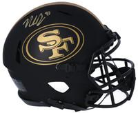 NICK BOSA Autographed San Francisco 49ers Authentic Speed Eclipse Helmet FANATICS