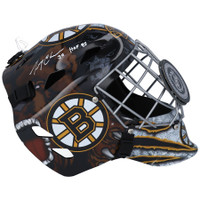 "GERRY CHEEVERS Autographed ""HOF 1985"" Boston Bruins Goalie Mask FANATICS"