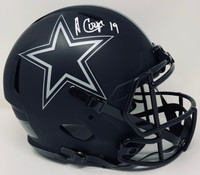 AMARI COOPER Autographed Dallas Cowboys Speed Eclipse Authentic Helmet FANATICS