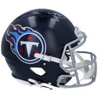 A.J. BROWN Autographed Tennessee Titans Speed Authentic Helmet FANATICS