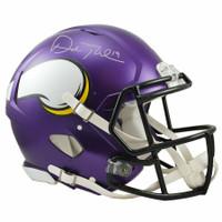 ADAM THIELEN Autographed Minnesota Vikings Speed Authentic Helmet FANATICS