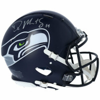 D.K. METCALF Autographed Seattle Seahawks Speed Authentic Helmet FANATICS