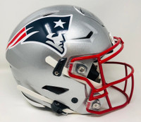 TOM BRADY Autographed New England Patriots Authentic Speed Flex Helmet FANATICS
