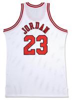MICHAEL JORDAN Autographed Chicago Bulls White 1997-98 Authentic Mitchell & Ness Jersey UDA