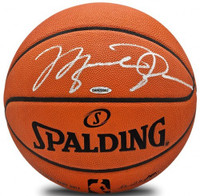 MICHAEL JORDAN Signed Authentic Spalding Basketball UDA