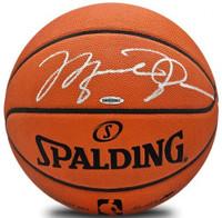 MICHAEL JORDAN Signed Authentic Spalding Basketball UDA
