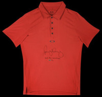 RORY McILROY Hand Signed & Inscribed On Point Oakley Polo Shirt UDA
