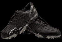 RORY McIlroy Hand Signed Black FootJoy Golf Shoes UDA