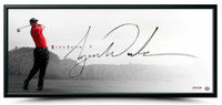 """TIGER WOODS Hand Signed """"The Show"""" Framed 46 x 20 Photo UDA"""