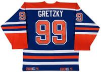 WAYNE GRETZKY Hand Signed Authentic Edmonton Oilers Jersey UDA