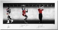 "ALI, JORDAN & WOODS Signed ""Legends of Sport"" Platinum Photo LE 100 UDA"