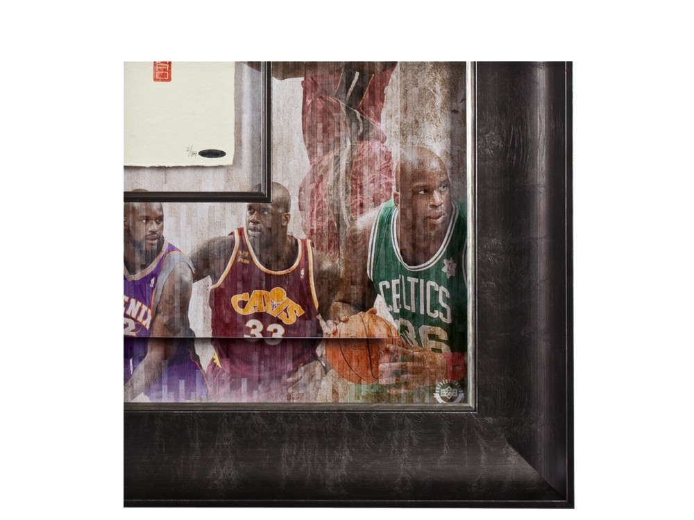 SHAQUILLE O'NEAL Signed Collage TEGATA