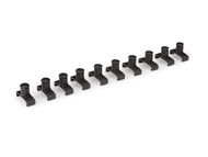 10-pc. 3/8 in. Twist Lock Socket Clip Set