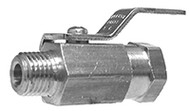 Male x Female Chr Plated Mini Ball Valve