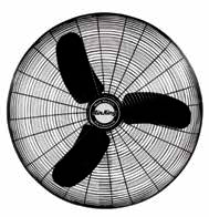 "30"" Assembled Fan Head, 1/3 HP 120V"