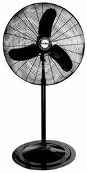 "30"" Oscillating Pedestal Fan, 3-Speed, 1/3 HP 120V"