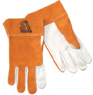 Pearl Grain Sheepskin Palm TIG Glove