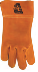 Brown Split Cowhide Unlined MIG Glove
