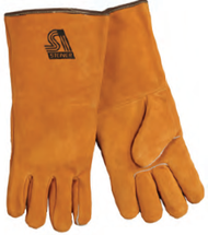 Shoulder Split Cowhide Welder Glove w/ Heat Resistor Large