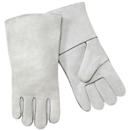 Gray Economy 3-Pack Large Welders Glove