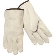 Premium Grain Cow Unlined Kevlar Sewn Drivers Glove