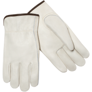 Economy Grain Cowhide Unlined Drivers Glove