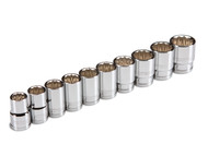 1/2 in. Drive Socket Set (13-24mm) Cr-V