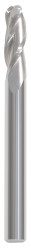 """9/16"""" 3 Flute UNCOATED Ballnose Endmill (1-1/4"""" LOC) (3-1/2"""" OAL)"""