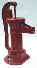 The Simmons 1160 Pitcher Pump is certified lead free, rugged, cast iron construction, perfect for simple shallow well and cistern pumping.