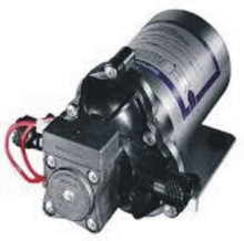 The Shurflo 2088-594-144 diaphragm pump is ideal for a small cabin water system.