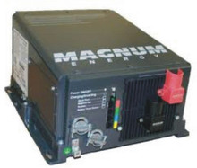 The Magnum RD2824 fan-cooled 24 Volt Inverter/Charger produces up to 2800 Watt continuous and up to a 6000 Watt surge.