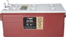 The 8D-Gel battery is a 12 volt battery for small solar systems. *Price includes core charge.