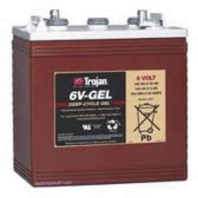The 6V-Gel battery is ideal for a small solar system. *Price includes core charge. **Minimum order of 4.