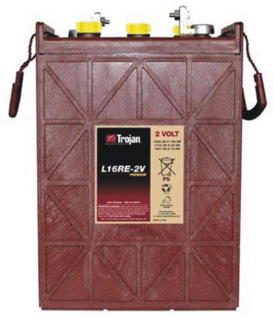 More rugged than the T-105-RE, the L16RE-2V wet-cell battery comes with a 24 month free replacement, 5-Year warranty. *Price includes core charge. **Minimum Order of 2.