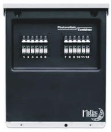 The MidNite Solar MNPV12 Combiner Box is the perfect answer for an off-grid cabin with a medium to large solar system.