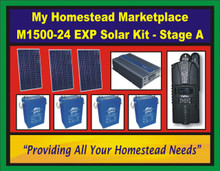 M1500-24 EXP Solar Kit - Stage A