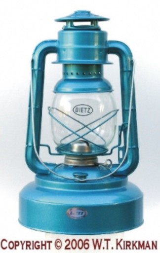 The Deitz #2500 Jupiter Lantern is one of the largest Cold-Blast Kerosene Lanterns made. With an 84 oz. fluid capacity, it can burn for 75 Hours! This is one serious lantern!