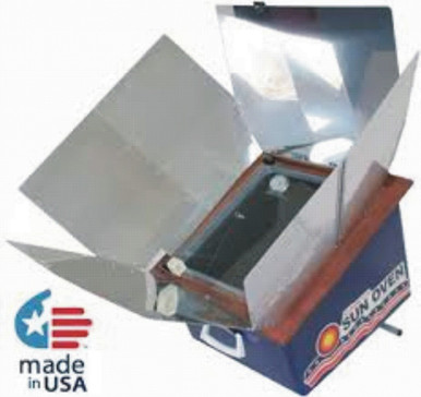 The All American Sun Oven with the Preparedness and Dehydrating Package is the same Sun Oven but with additional Preparedness and Dehydrating Items.